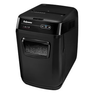 Уничтожитель Fellowes AutoMax 130C, 130 листов, фрагменты 4x51 мм, корзина 31 л