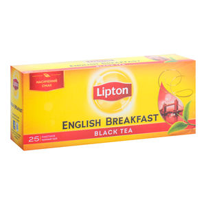 Чай черный ENGLISH BREAKFAST, 25х2г,