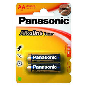 Батарейка Panasonic ALKALINE POWER LR6 (AA)