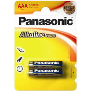 Батарейка Panasonic ALKALINE POWER LR3 (АAA)