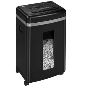 Знищувач Fellowes Microshred 450M, 9 аркушів, фрагменти 2х12 мм, кошик 22 л. 16534