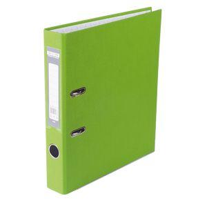Купить Папки-регистраторы, Регистратор односторонний А4 LUX, JOBMAX, ширина торца 50мм, салатовый
