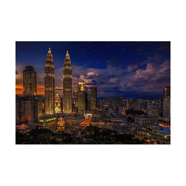 Купить Картины, Картина 600х400 мм Куала-Лумпур , Wolf