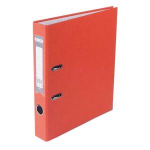Купить Папки-регистраторы, Регистратор односторонний А4 LUX, JOBMAX, ширина торца 50мм, оранжевый