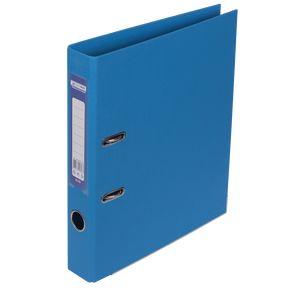 Купить Папки-регистраторы, Регистратор двухсторонний ELITE BUROMAX, А4, ширина торца 50 мм, светло-синий