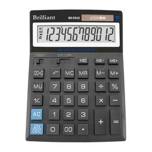 Купить Калькуляторы, Калькулятор Brilliant BS-5522, 12 разрядов