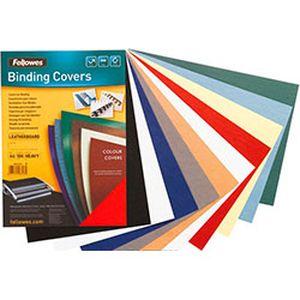Купить Расходные материалы для брошюровщиков, Обложка RELIDO, для скользящих зажимов, 6-9 мм, синяя, Wolf