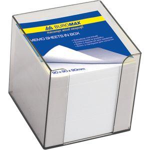 Купить Боксы для бумаги, Бокс с белой бумагой 90х90х90мм 1000л, дымчатый, Wolf