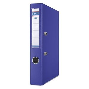 Купить Папки-регистраторы, Регистратор PREMIUM DONAU, А4, ширина торца 50 мм, синий