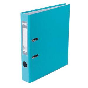Купить Папки-регистраторы, Регистратор односторонний А4 LUX, JOBMAX, ширина торца 50мм, голубой
