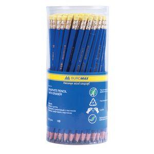 Купить Карандаши, Карандаш графитовый JOBMAX НВ, пластиковый, синий