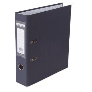 Купить Папки-регистраторы, Регистратор односторонний А4 LUX, JOBMAX, ширина торца 70мм, черный