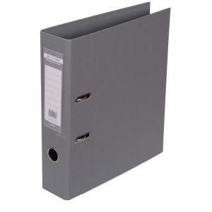 Купить Папки-регистраторы, Регистратор двухсторонний ELITE BUROMAX, А4, ширина торца 70 мм, серый