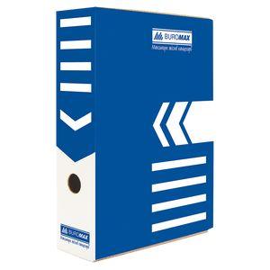 Купить Боксы и короба архивные, Бокс для архивации документов 80 мм, BUROMAX, синий, Wolf