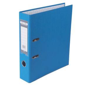 Купить Папки-регистраторы, Регистратор односторонний А4 LUX, JOBMAX, ширина торца 70мм, светло-синий