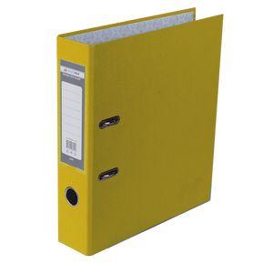 Купить Папки-регистраторы, Регистратор односторонний А4 LUX, JOBMAX, ширина торца 70мм, желтый