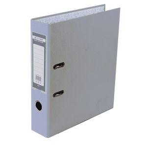 Купить Папки-регистраторы, Регистратор односторонний А4 LUX, JOBMAX, ширина торца 70мм, серый