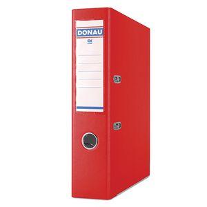 Купить Папки-регистраторы, Регистратор PREMIUM DONAU, А4, ширина торца 70 мм, красный