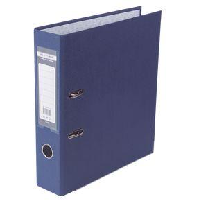 Купить Папки-регистраторы, Регистратор односторонний А4 LUX, JOBMAX, ширина торца 70мм, синий