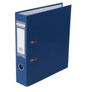 Купить Папки-регистраторы, Регистратор односторонний А4 LUX, JOBMAX, ширина торца 70мм, темно-синий