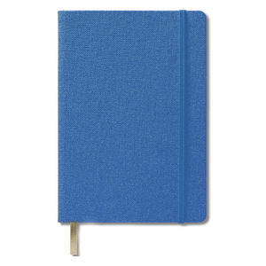 Купить Записные книжки, Записная книжка, голубая Делфи А5 (Ivory Line), Wolf