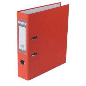 Купить Папки-регистраторы, Регистратор односторонний А4 LUX, JOBMAX, ширина торца 70мм, оранжевый