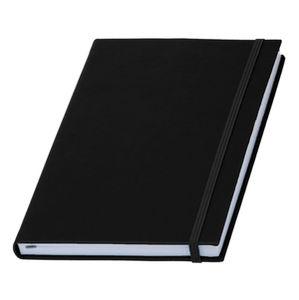 Купить Записные книжки, Записная книжка, чорная Туксон А5 (White Line), Wolf