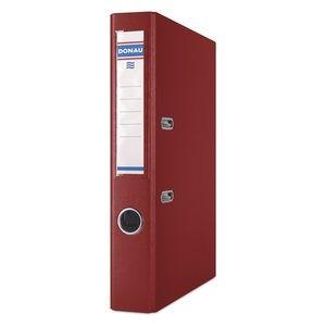 Купить Папки-регистраторы, Регистратор PREMIUM DONAU, А4, ширина торца 50 мм, бордовый