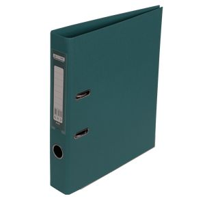 Купить Папки-регистраторы, Регистратор двухсторонний ELITE BUROMAX, А4, ширина торца 50 мм, темно-зеленый