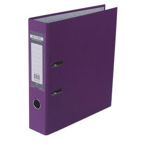 Купить Папки-регистраторы, Регистратор односторонний А4 LUX, JOBMAX, ширина торца 70мм, сиреневый