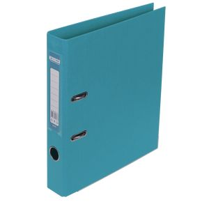 Купить Папки-регистраторы, Регистратор двухсторонний ELITE BUROMAX, А4, ширина торца 50 мм, голубой