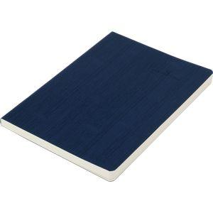 Купить Бизнес-тетради, блокноты, Блокнот деловой COLOR TUNES А5, 96л., линия, обложка искусственная кожа, т.-синий