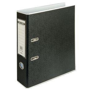Купить Папки-регистраторы, Регистратор BUROMAX, А4, 70 мм, PP, белый/черный