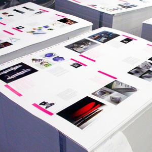 Печать в листах